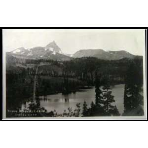 Washington Square Lake Port Orchard Postcard RPPC (blank