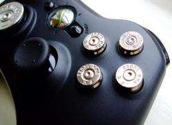 Custom xbox 360 controller BULLET buttons Dpad Mod NW