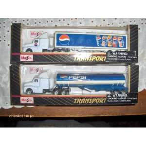 and Box Tanker Trailers 187 scale Diecast Collectable Toys & Games