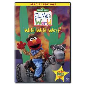 Elmos World: Wild Wild West! DVD  Shop the Ticketmaster Merchandise