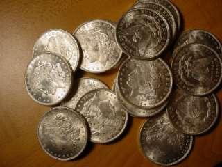 1921 P SILVER MORGAN DOLLAR ROLL BU