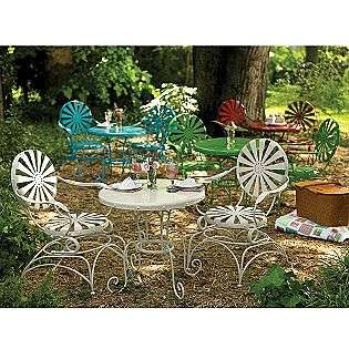 Patio Balencia Bistro Set Chairs Ottomans Furniture Bs008 2