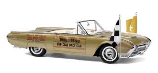 Danbury Mint 1961 Ford Thunderbird Convertible Indy Pace Car 124th