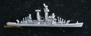USS COLUMBUS CG 12 GUIDED MISSILE CRUISER PIN US NAVY