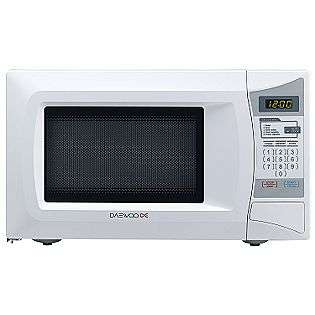 Small Countertop Microwave Dimensions : Cu. Ft. 600 Watt Compact Microwave Daewoo Appliances Microwaves
