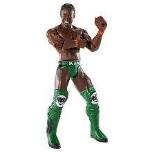 WWE FLEXFORCE Action Figure   Hook Throwin Kofi Kingston   Mattel
