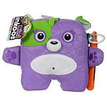 Mini Plush Bear with Markers   Purple   The Bridge Direct