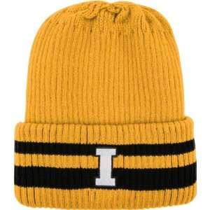 Iowa Hawkeyes Black Siberia Cuffed Knit Hat Sports