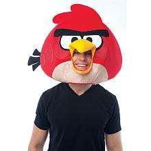 Angry Birds Red Bird Mask   Adult Size   Paper Magic