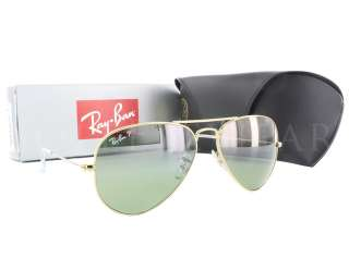 Ray Ban RB 3025 001 M4 Aviator Large Metal Polarized Sunglasses