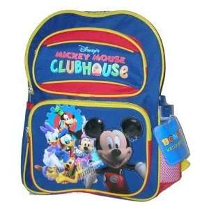 Disney Mickey Mouse Clubhouse Backpack LARGE Toys & Games