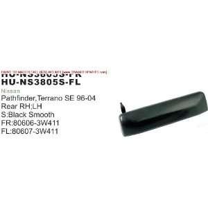 96 04 NISSAN PATHFINDER OUTSIDE DOOR HANDLE FRONT LEFT (DRIVER SIDE