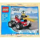 city exclusive mini figure set 30010 fire chief bagged building