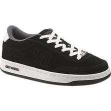 Davidson STATIC Mens Black Suede Steel Toe Skate Sneakers Shoes D93027