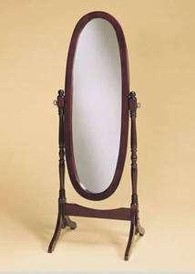 Powell Heirloom Cherry Cheval Mirror Model 978