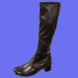 Franco SartoScala Brn Stretch Pull on Boot Size 10