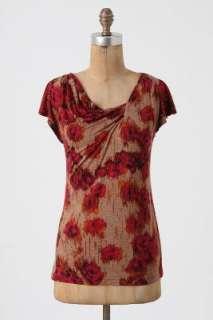 Anthropologie   Roses In The Rain Shirt