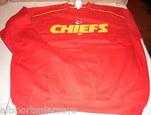 NFL NWT CREW NECK SWEATSHIRT   KANSAS CITY CHIEFS   MEDIUM