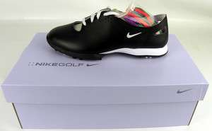 New 2012 Nike Women Air Summer Lace Shoe Blk/White 6.5