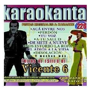 Karaokanta KAR 4226   Al Estilo de Vicente Fern¨¢ndez   VI Spanish