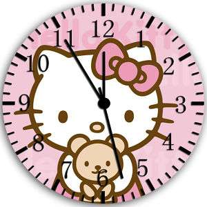 Hello Kitty wall clock Room Decor #024 Fast shipping