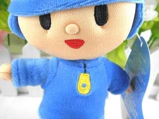 High quality 6.7  POCOYO BANDAI PLUSH SOFT FIGURE Toy   Pocoyo