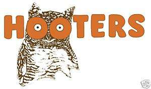 Hooters Owl 5x7 T shirt Iron on transfer