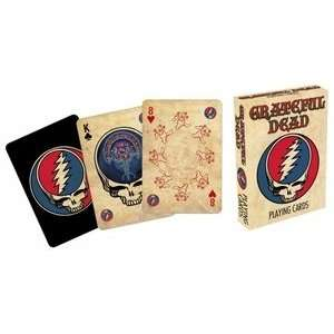 Official Playing Cards   Grateful Dead: Health & Personal Care