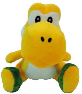 Super Mario Bros. Nintendo Wii 6 Plush Set Of 8 *New*
