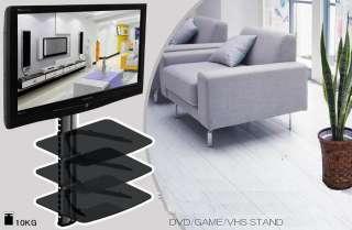 TIER SHELF DVD HD Box TV WALL MOUNT BRACKET LCD PS3
