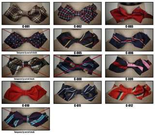 New Mens Polka Tuxedo Bow Tie Necktie(Over 60 designs)