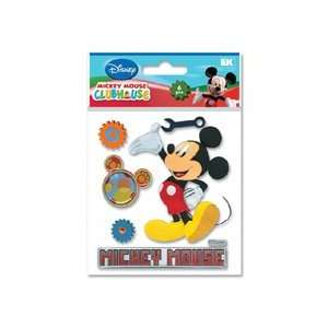 Mickey Mouse Clubhouse 3D Stickers Mickey Mouse Arts