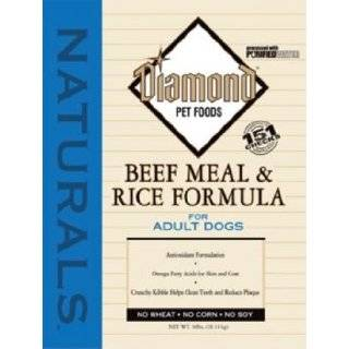 Diamond Naturals Dry Food for Adult Dog, Beef and Rice Formula, 40