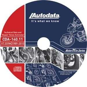 Autodata Motorcycle CD  Technical Data & Labor Guide