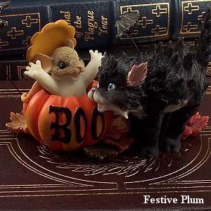 offered item fitz and floyd charming tails don t be a scaredy 85 124