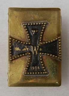 iron cross emblem scarce original world war one vintage field made