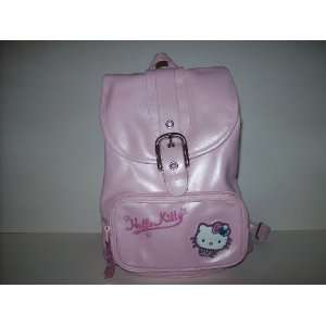 Hello Kitty Pink Leather Backpack Purse Toys & Games