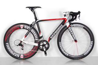 TREBISACCE RED PRO SRAM RED BLACK SL CARBON ROAD BIKE BICYCLE 58 cm