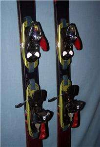 Salomon Siam #10 skis, 158cm with Salomon S810 bindings (A 160)