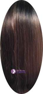 18 100% India Remy Human Hair Lace Wig/Wigs Silky ★★★★