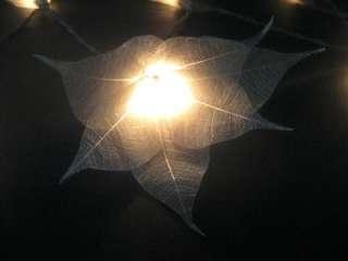 SILVER STAR FLOWER LED STRING FAIRY LIGHTS Wedding/Home