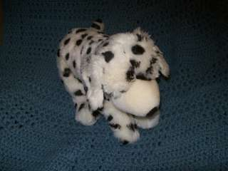 2009 Geoffrey Toys R Us Animal Alley Plush Dalmatian Puppy Dog Black