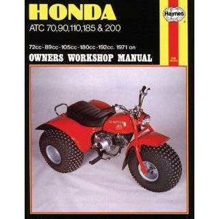 Honda ATC70, 90, 110, 185, and 200, 1979 85 …