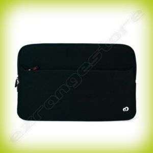 Black Laptop Carrying Case Cover Sleeve for up to 17