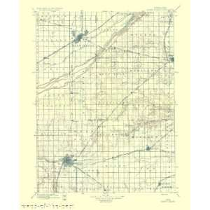 USGS TOPO MAP GRAND ISLAND QUAD NEBRASKA (NE) 1897 Home