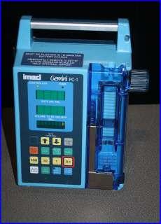 Imed Gemini PC 1 Volumeric Infusion Pump, PARS,Governmen Surplus