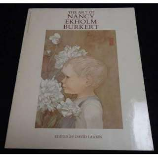 David Larkin Art Book   NANCY EKHOLM BURKERT   SNOW WHITE ARTIST   1st