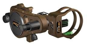 Apex Atomic Rover 4 Pin Bow Sight w/Light .019 & .010