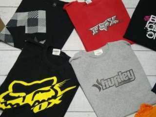 QUIKSILVER FOX VOLCOM Mens Surf Skate T Tee Shirt Lot Sz Medium M