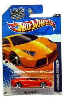 10 Hot Wheels HW Garage #71 Lamborghini Reventon game